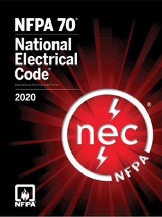 2020 NEC Code Book