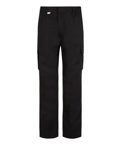 Bertee Cargo Trousers - Black Front
