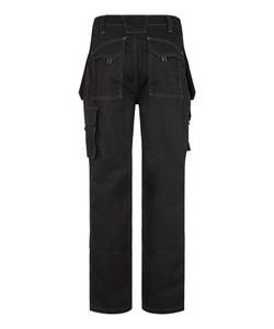 Bertee Tradesman Black - Rear