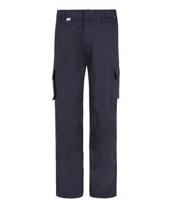 Bertee Cargo Trousers - Navy Front
