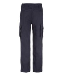 Bertee Cargo Trousers - Navy Rear