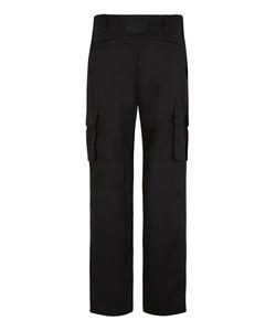 Bertee Cargo Trousers - Black Rear