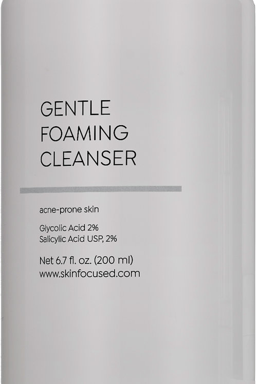 Gentle Foaming Cleanser for Acne-Prone Skin