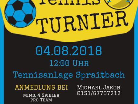 FUSSBALL TENNIS TURNIER
