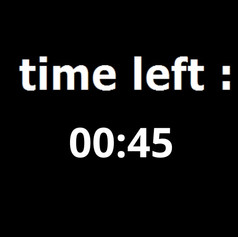 Time left