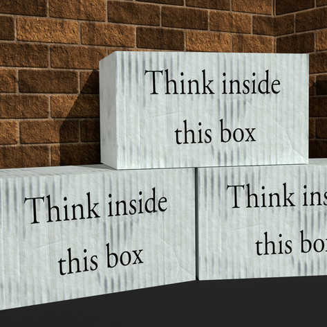 Think inside this box