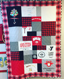T-Shirt Quilt for Liam N.