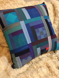 Quilted Birthday Pillow