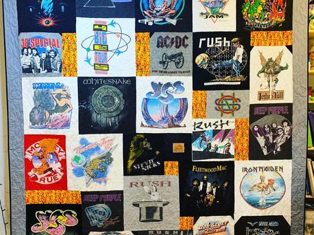 Concert T-Shirts Quilt