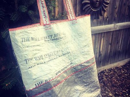 Newspaper Bag Tote!