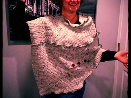 Poncho-ize an Old Sweater