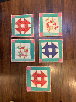 Trivets From an Old Quilt
