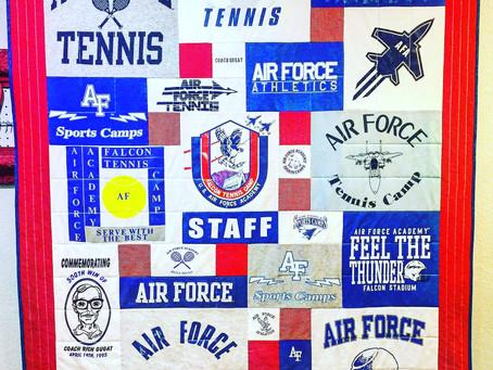 Air Force T-Shirt Quilt