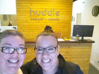 Huddle Cowork, we're home!