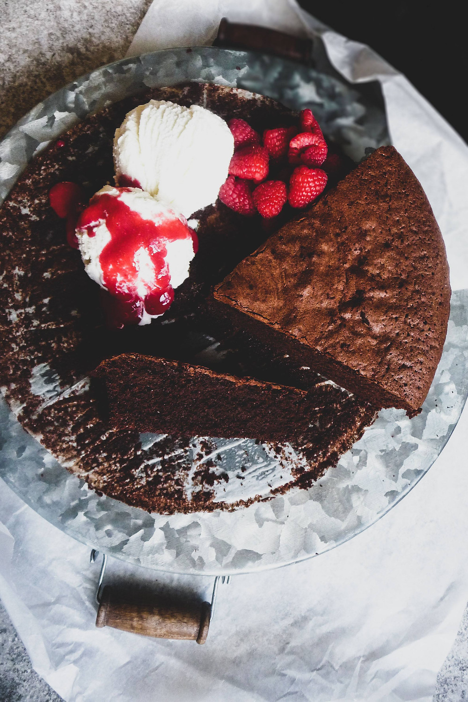 Chocolate Rye Cake