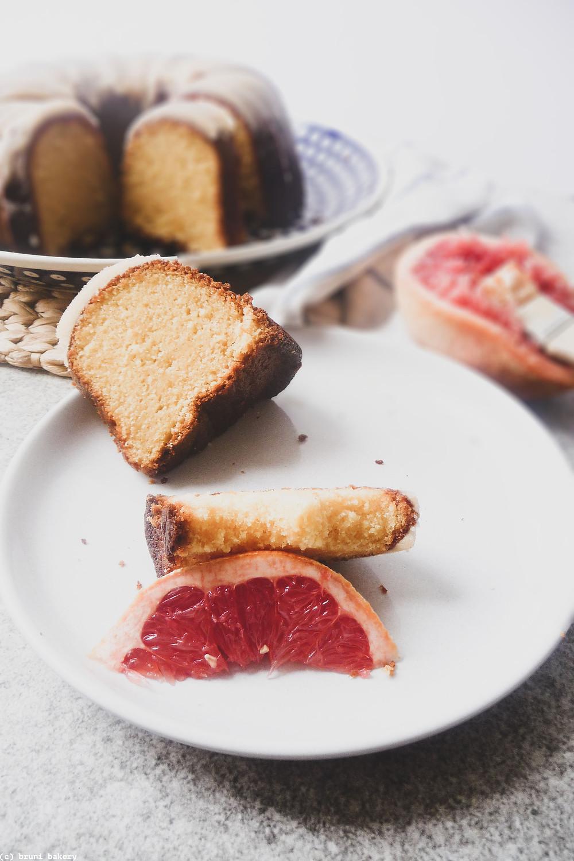 Grapefruit and Cardamom Pound Cake