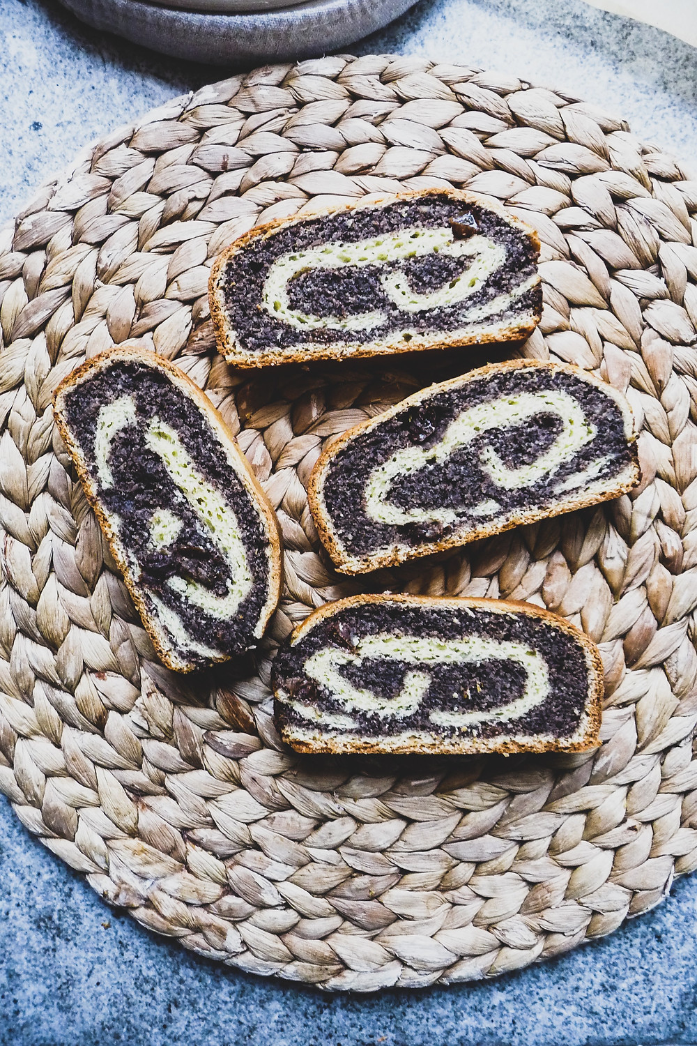 Poppy Seed Roll Cake