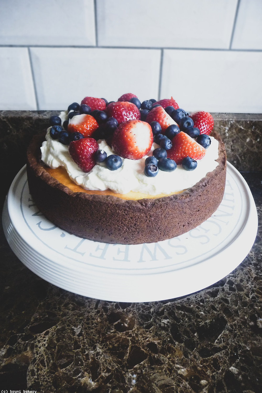 Cheesecake Brownie Torte