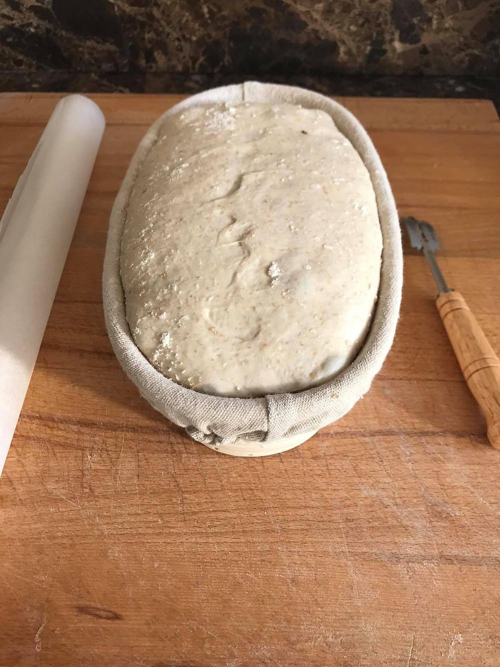 Breakfast Sourdough Bread - young starter