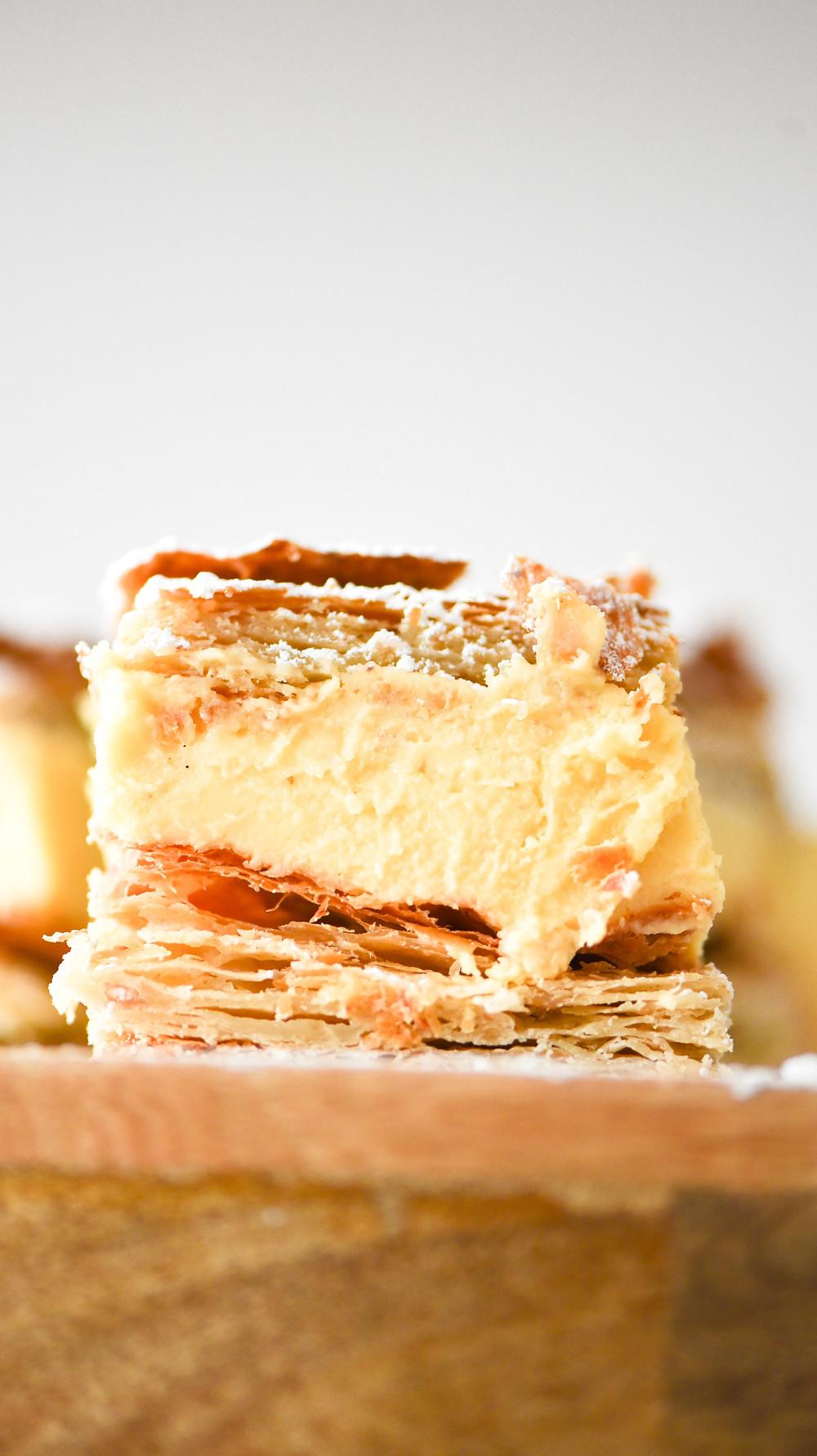 Kremowka - Polish Custard Slice