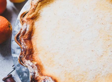 Lemon and Orange Custard Pie