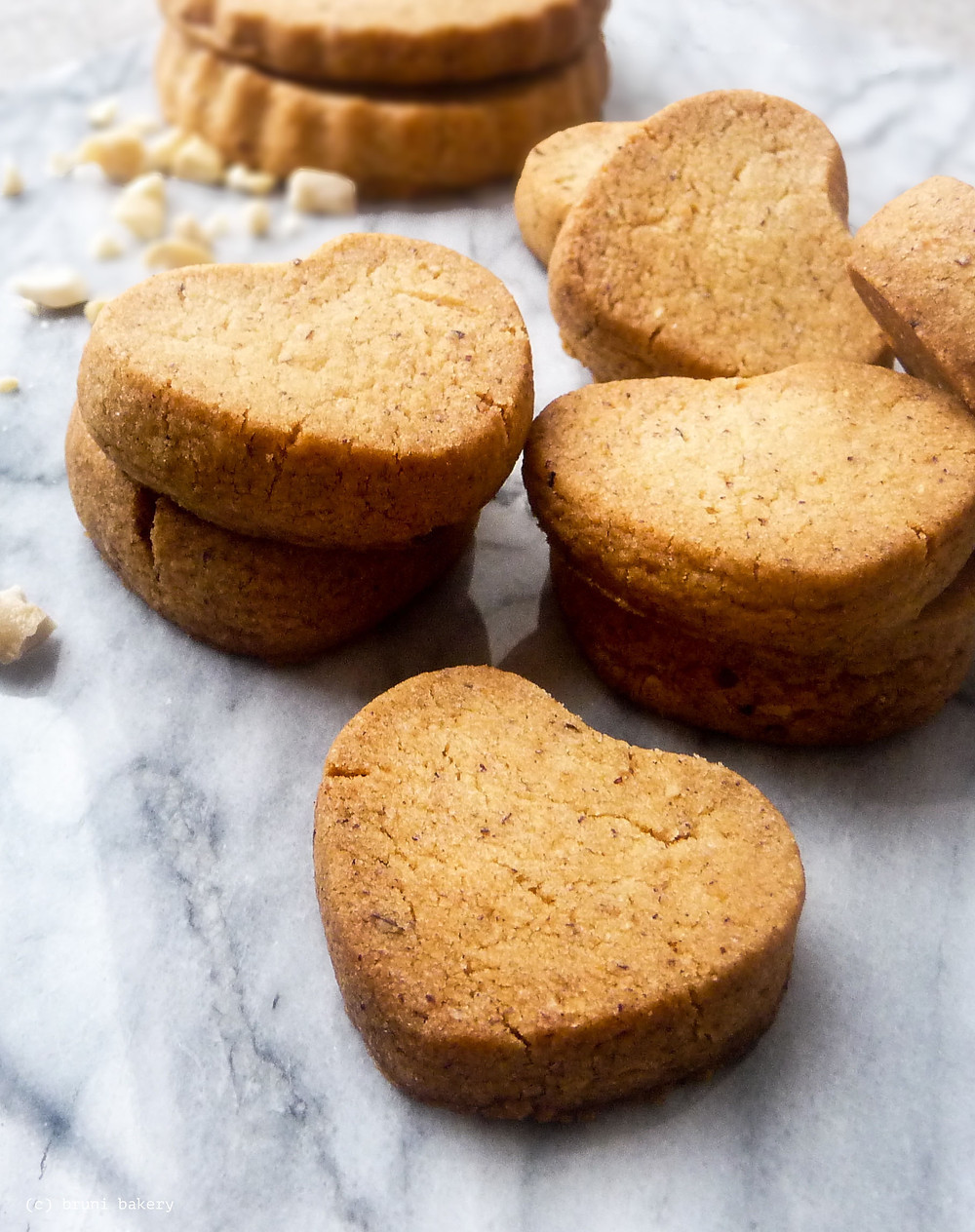 Hazelnut Shortbread Cookies Slice & Bake