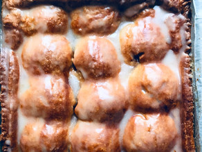 Cardamom Apple Slab Pie