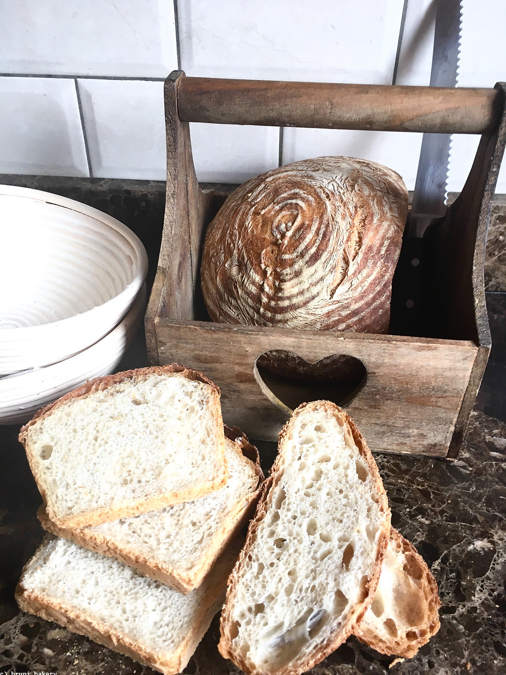 White Bread with Poolish (pre-ferment)