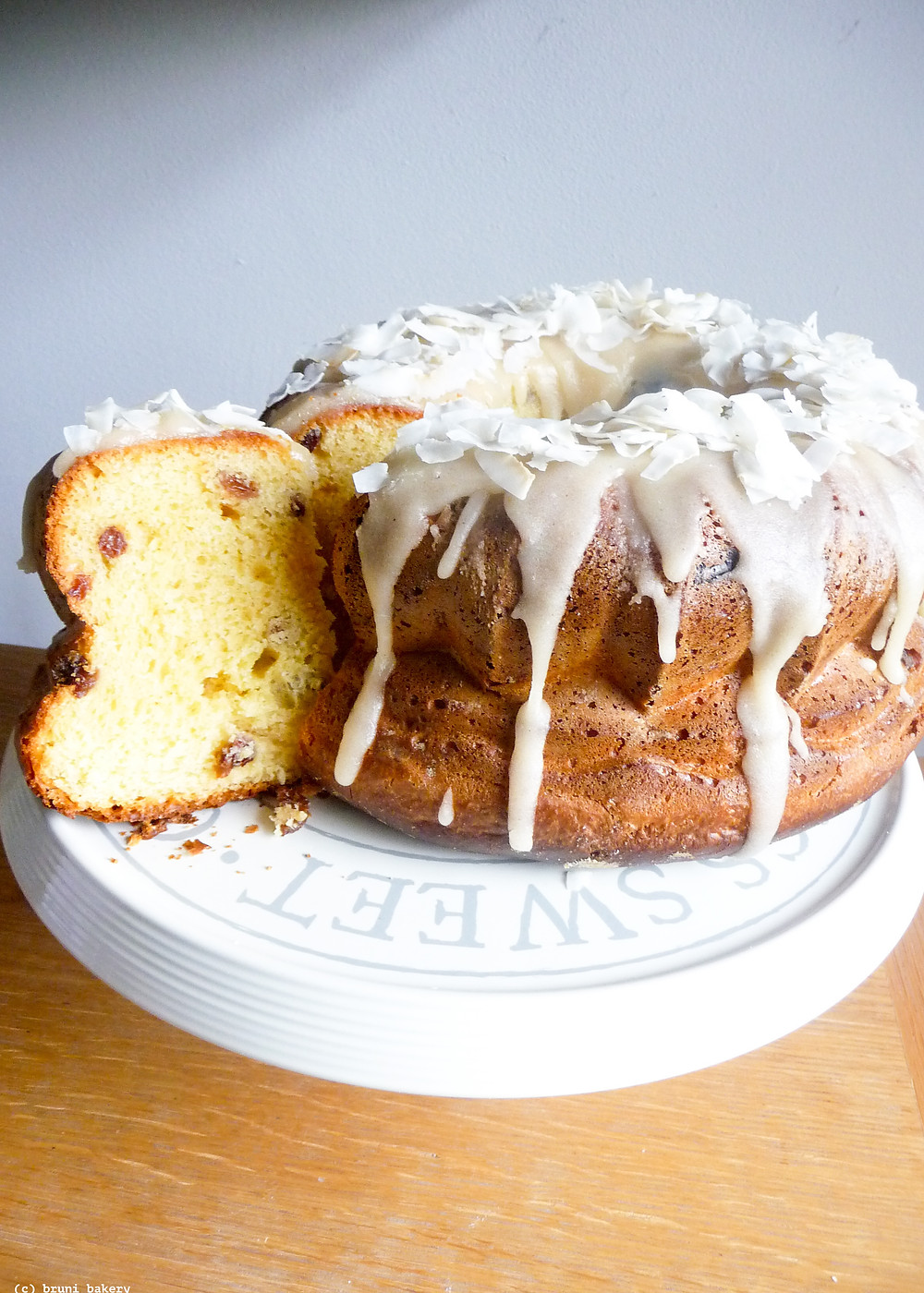 Rum Baba with Rum-Butter Glaze