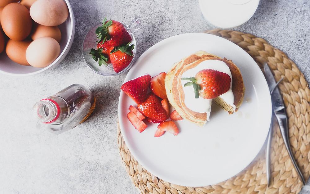 Soft Ricotta Pancakes