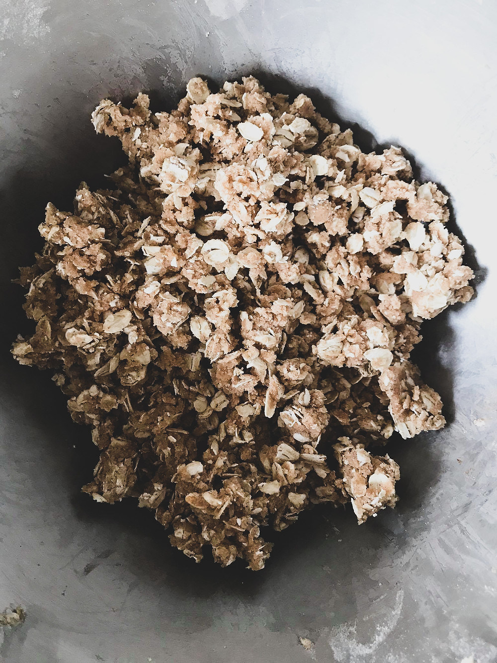Brown Sugar Oat topping