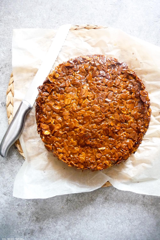 Caramelised Almond Buttermilk Cake