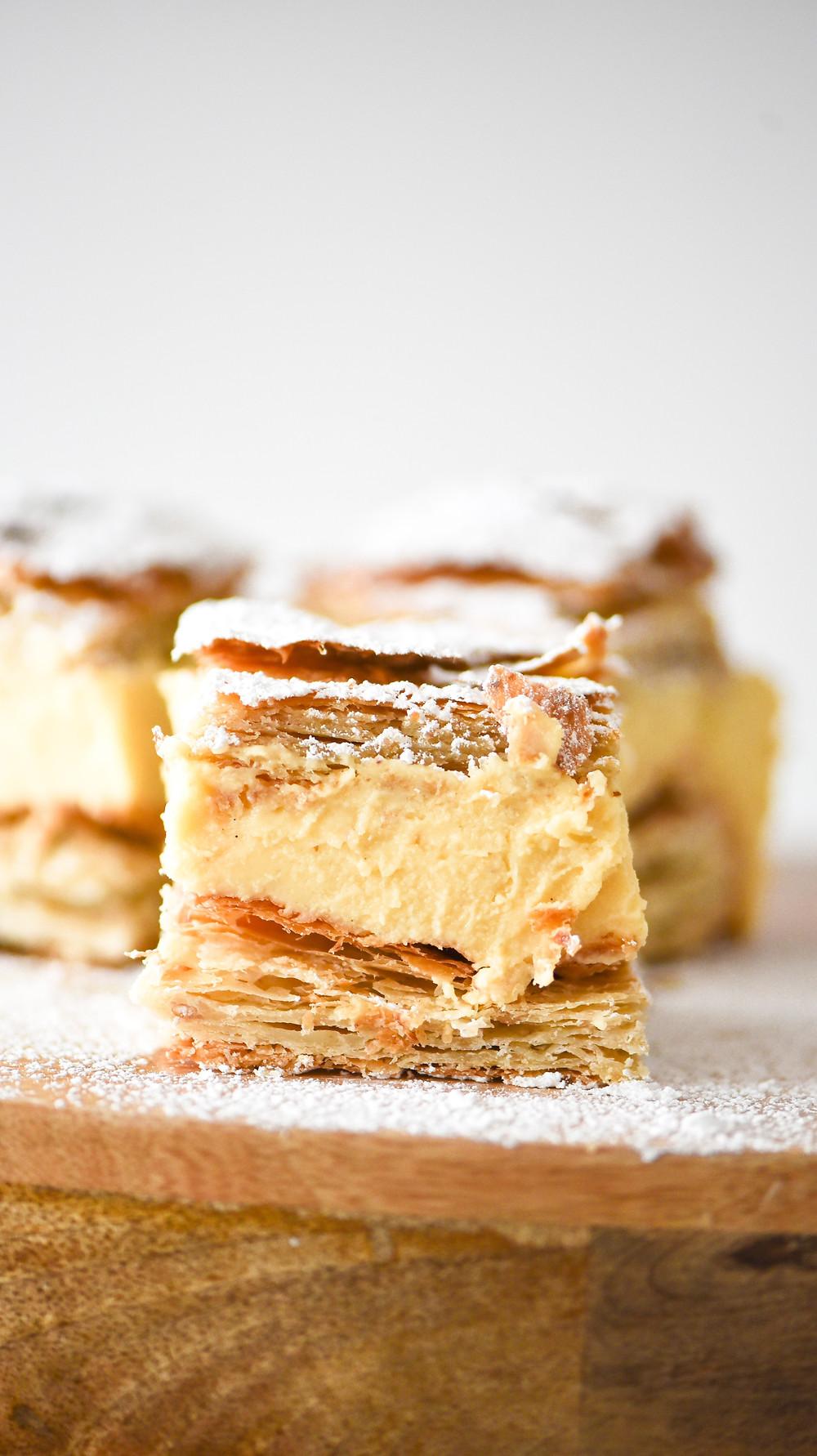 Kremowka - Polish Custard Slice Recipe