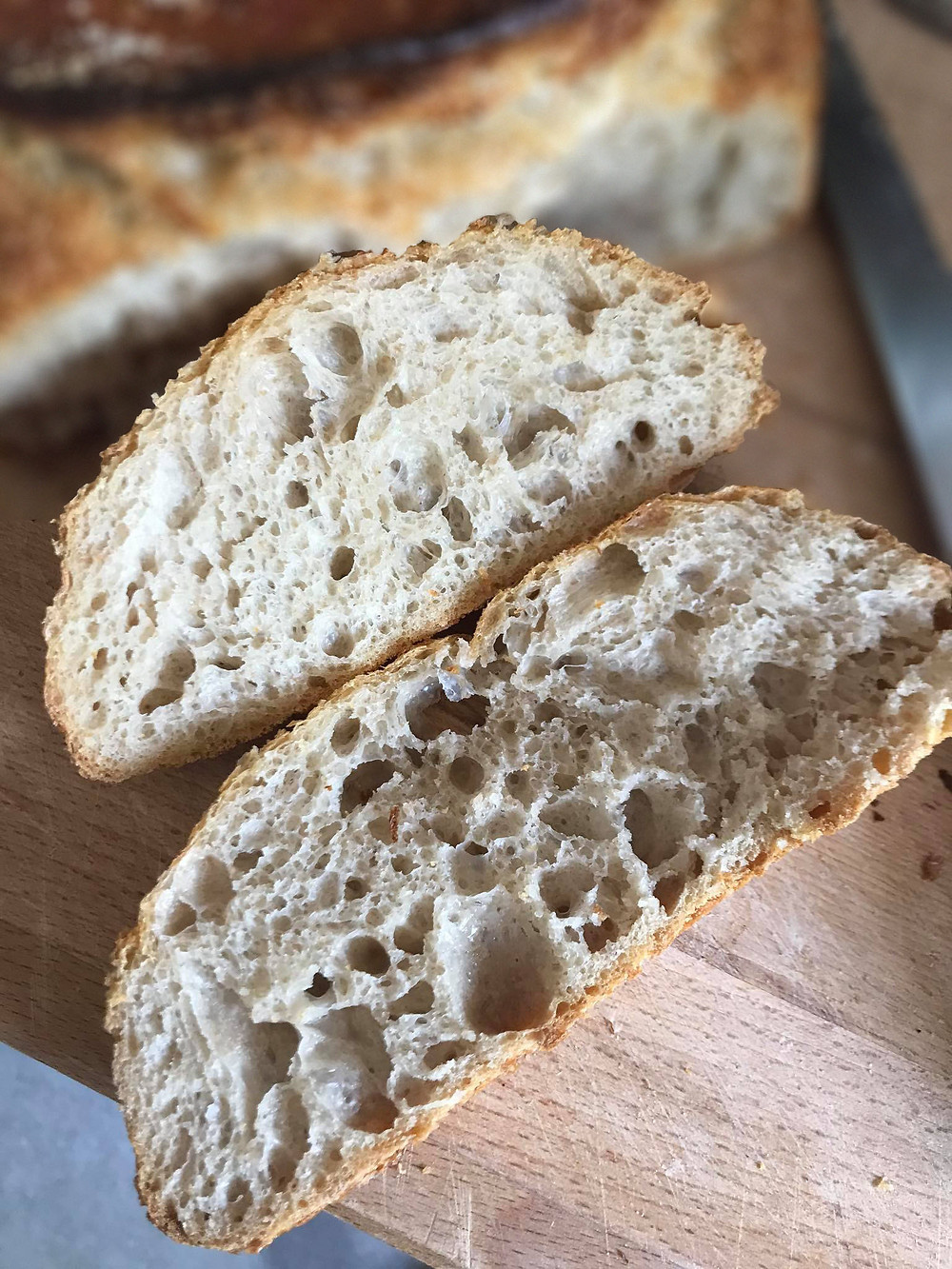 Einkorn, Spelt and Rye Sourdough Bread