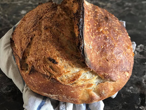 Breakfast Sourdough Bread - young starter