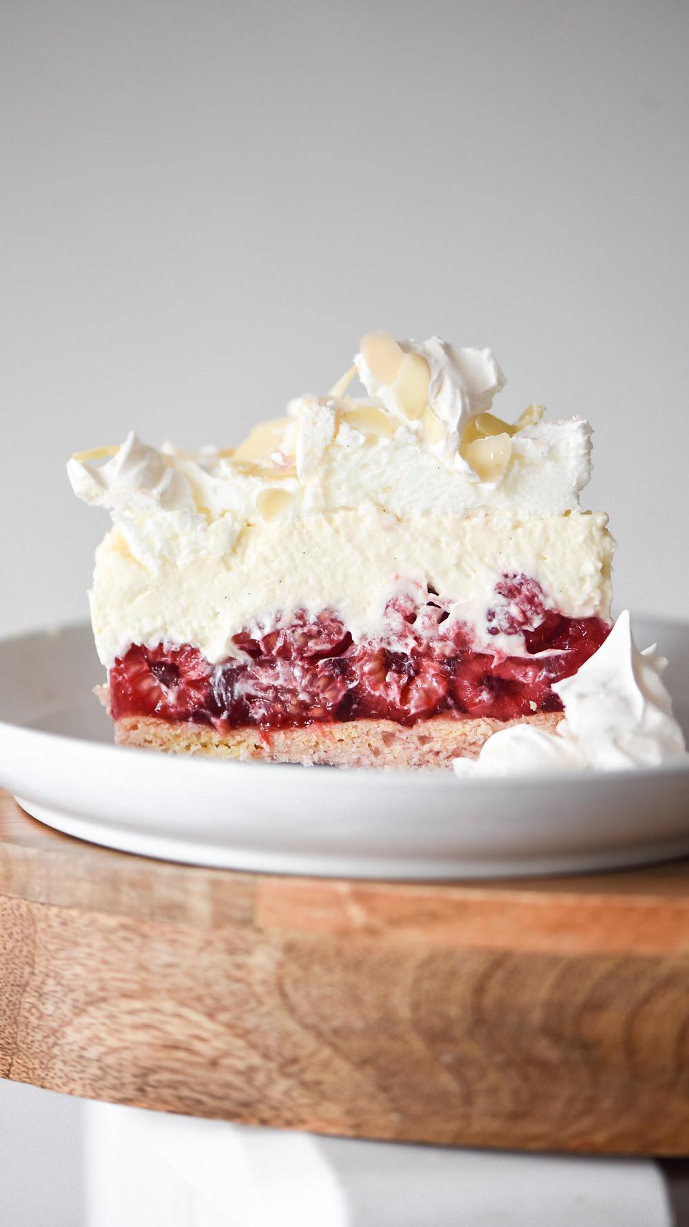 Raspberry Cloud Cake (Malinowa Chmurka)