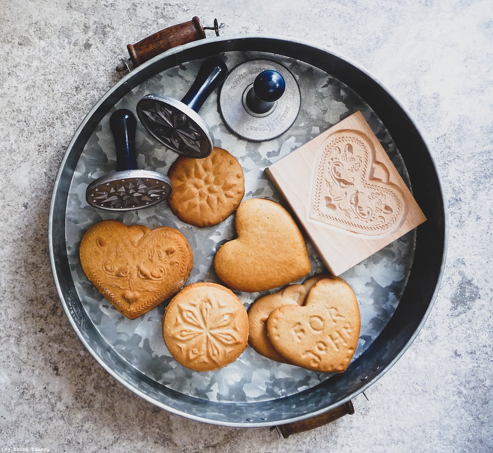 Spiced Honey Cookies