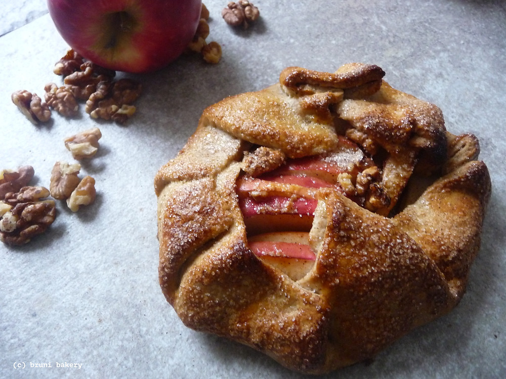 Apple and Pecan Galette