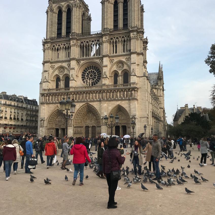 Париж Нотр Дам