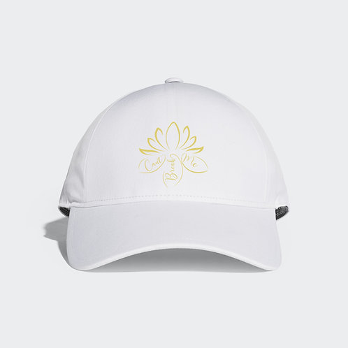 Gold Embroidered Logo Hat
