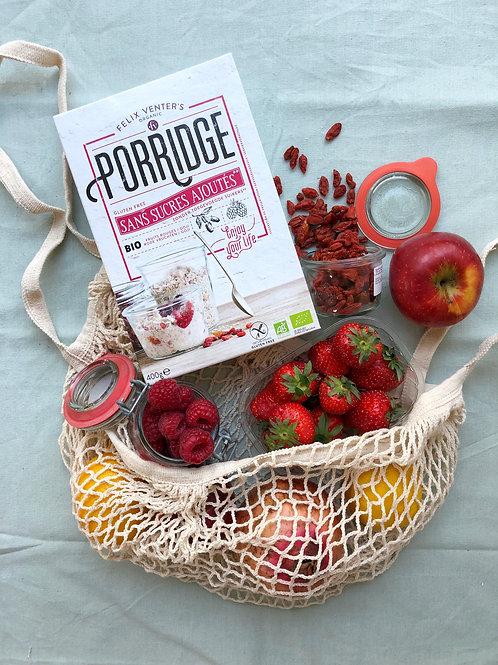 Felix Venter's Porridge Goji, Apple and Red Berries