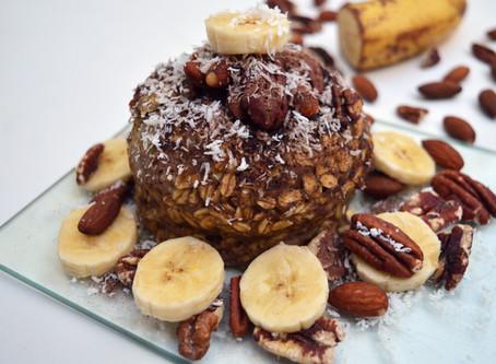 Bowl Cake Banane et Noix de Pécan