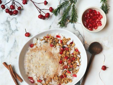 Porridge Noix de Coco et baies de Goji