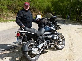Motorradfahrlehrer Frank Schulten