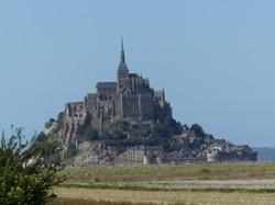 Le Mont Saint Michel bei Ebbe