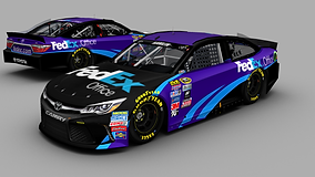 Denny Hamlin FedEx Office Base.png