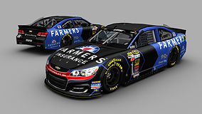 Kasey Kahne Farmers Insurance 2015 Base.