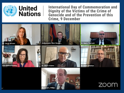 United Nations International Day Commemorating Genocide Victims and Prevention Observed