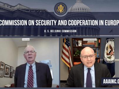 U.S. Concern Over Turkey's Role in Artsakh War Raised in Helsinki Commission Hearing