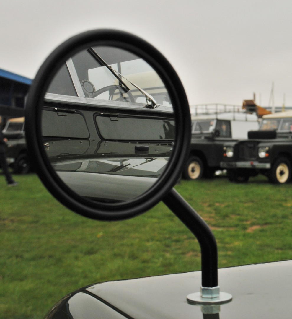 Land Rover Mirror Reflection